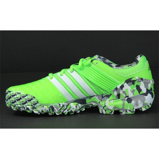 Adidas Adipower Hockey Ii Hockey Shoes Dark Grey Solar Yellow