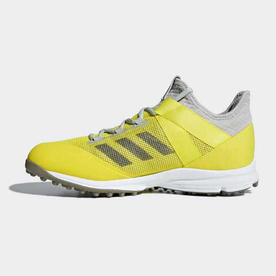 319213f4f85 Adidas Zone Dox Hockey Shoes (Yellow-Trace Carbon)