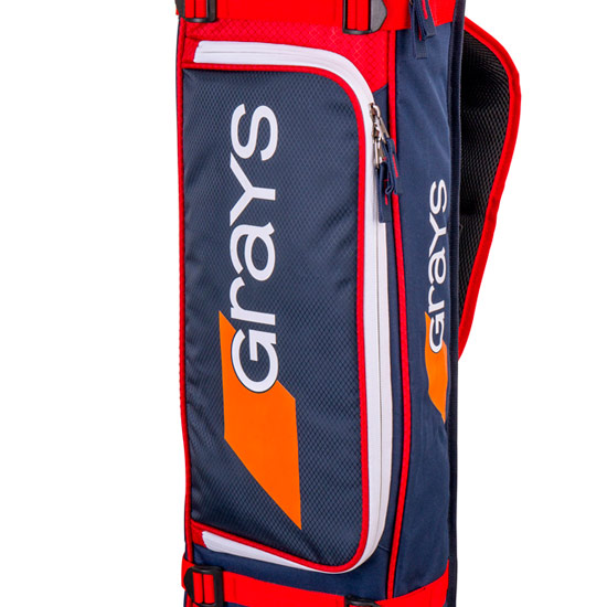 Grays GR 500 Hockey Stick-Kit Bag (Navy-Red)