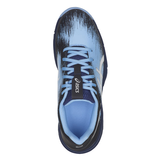 8f42d0ad101 Asics Gel Typhoon 3 Womens Hockey Shoes (Blue Print) | Direct Hockey