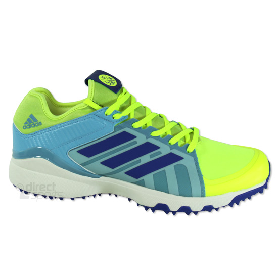 best sneakers 517c8 5e2d6 Adidas Hockey Lux Hockey Shoes (Solar Yellow)