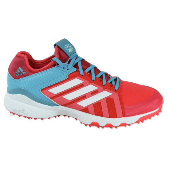 quality design aa13e 266e9 Adidas Hockey Lux Hockey Shoes (Shock Red)