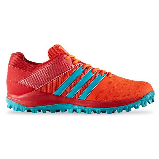 save off a788b 774bc Adidas SRS4 Womens Hockey Shoes (Scarlet-Aqua)