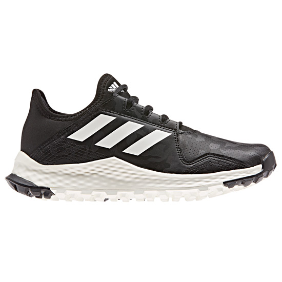 Adidas Youngstar Junior Hockey Shoes (Black-White)