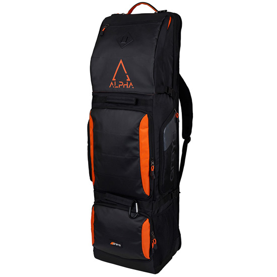 Grays Alpha Hockey Stick-Kit Bag (Black-Orange)