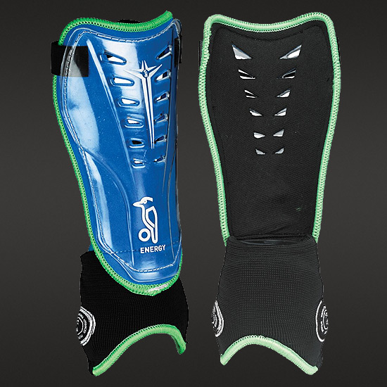 Kookaburra Energy Hockey Shinguards (Blue-Green)
