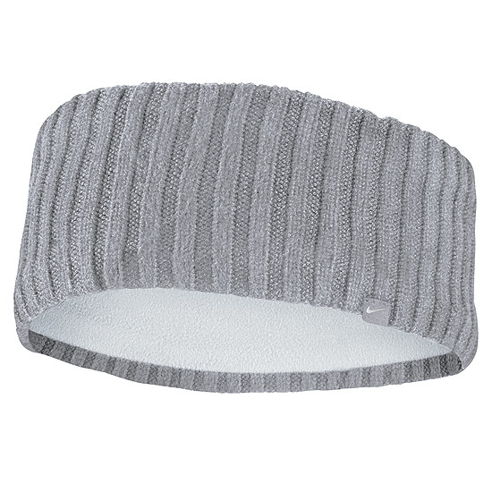 Nike Knit Wide Headband (Atmosphere Grey-Vast Grey-Silver)