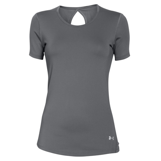 02fc9e5d Under Armour CoolSwitch HeatGear Womens Tee (Graphite) | Direct Hockey