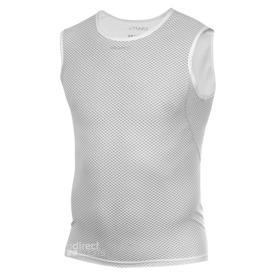 eb97b64672988 Craft Cool Mesh Superlight Sleeveless Top Mens (White)