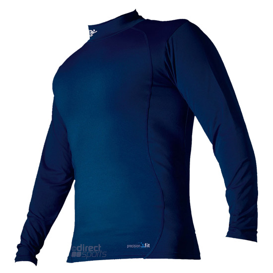 Precision Training LS Turtle Neck Top (Navy)