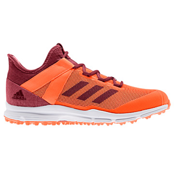 Adidas Zone Dox Hockey Shoes (Orange)