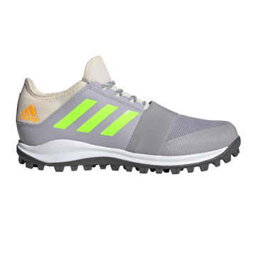 Adidas Divox Hockey Shoes (Grey-Green)