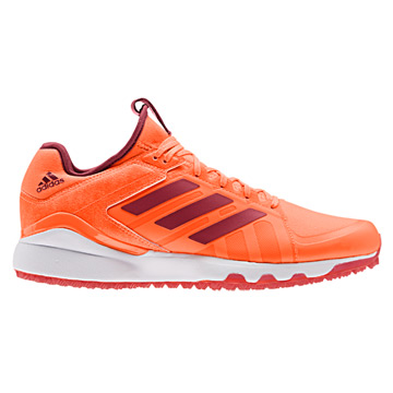 Adidas Hockey Lux Hockey Shoes (Orange-Maroon)