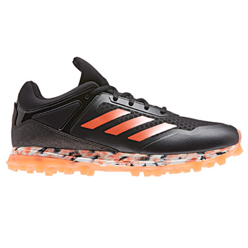 Adidas Fabela Zone Womens Hockey Shoes (Black-Orange)