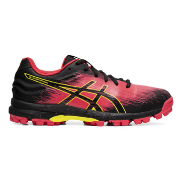 Asics Gel Hockey Typhoon 3 Womens Hockey Shoes (Laser Pink-Black)